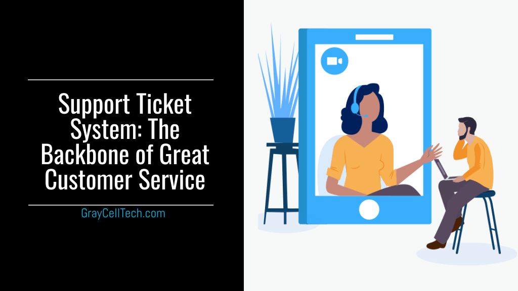 [Infographic] A Support Ticket System The Backbone of Great Customer Service