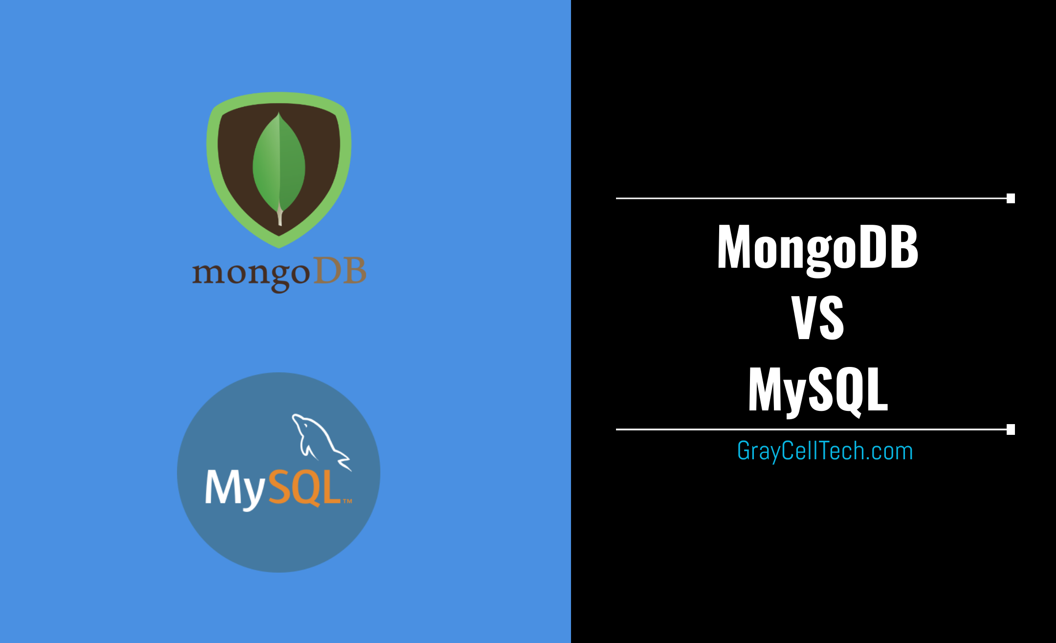GrayCell Technologies, blog; MongoBD and MySQL