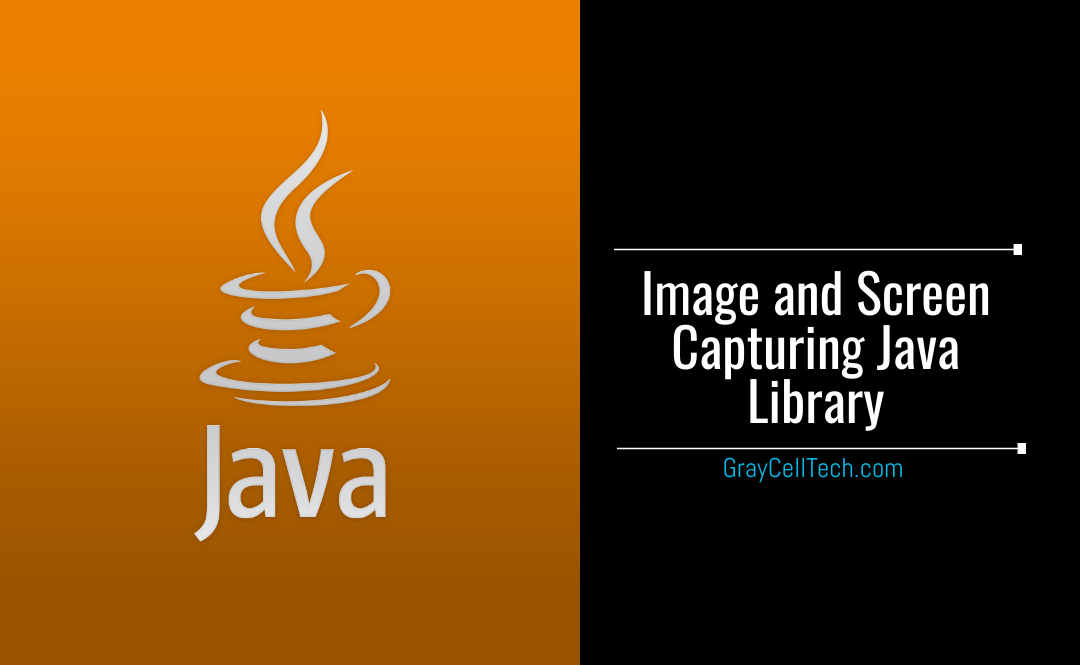 Image and Screen Capturing Java Library