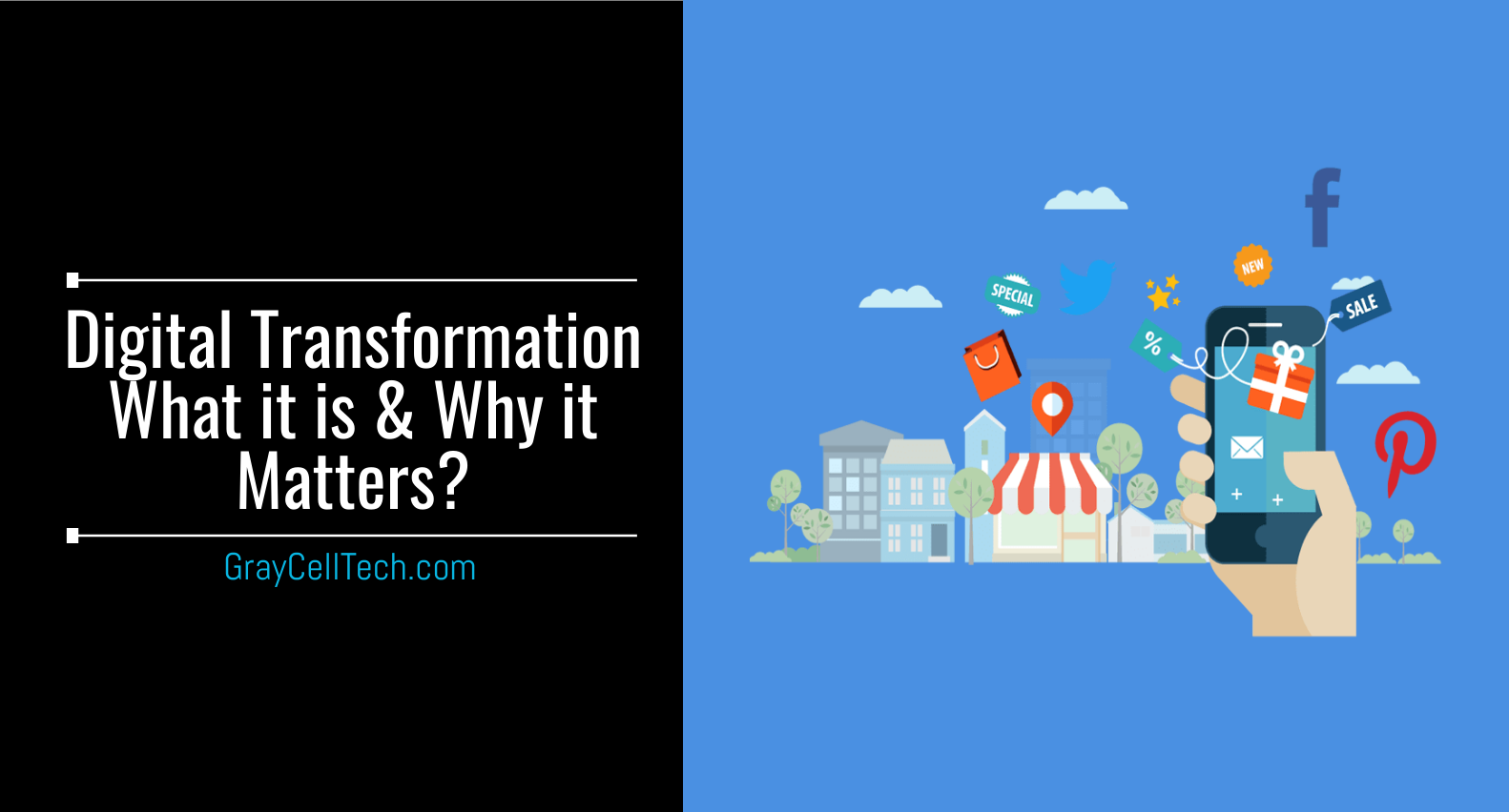 Digital Transformation - What it is and why it matters?
