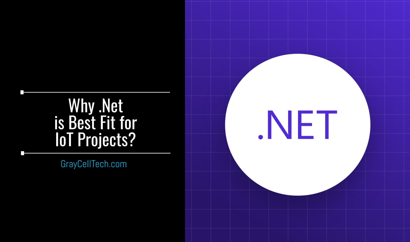 Why .Net is Best Fit for IoT Projects? Let's go through some solid reasons to choose .net over other platforms