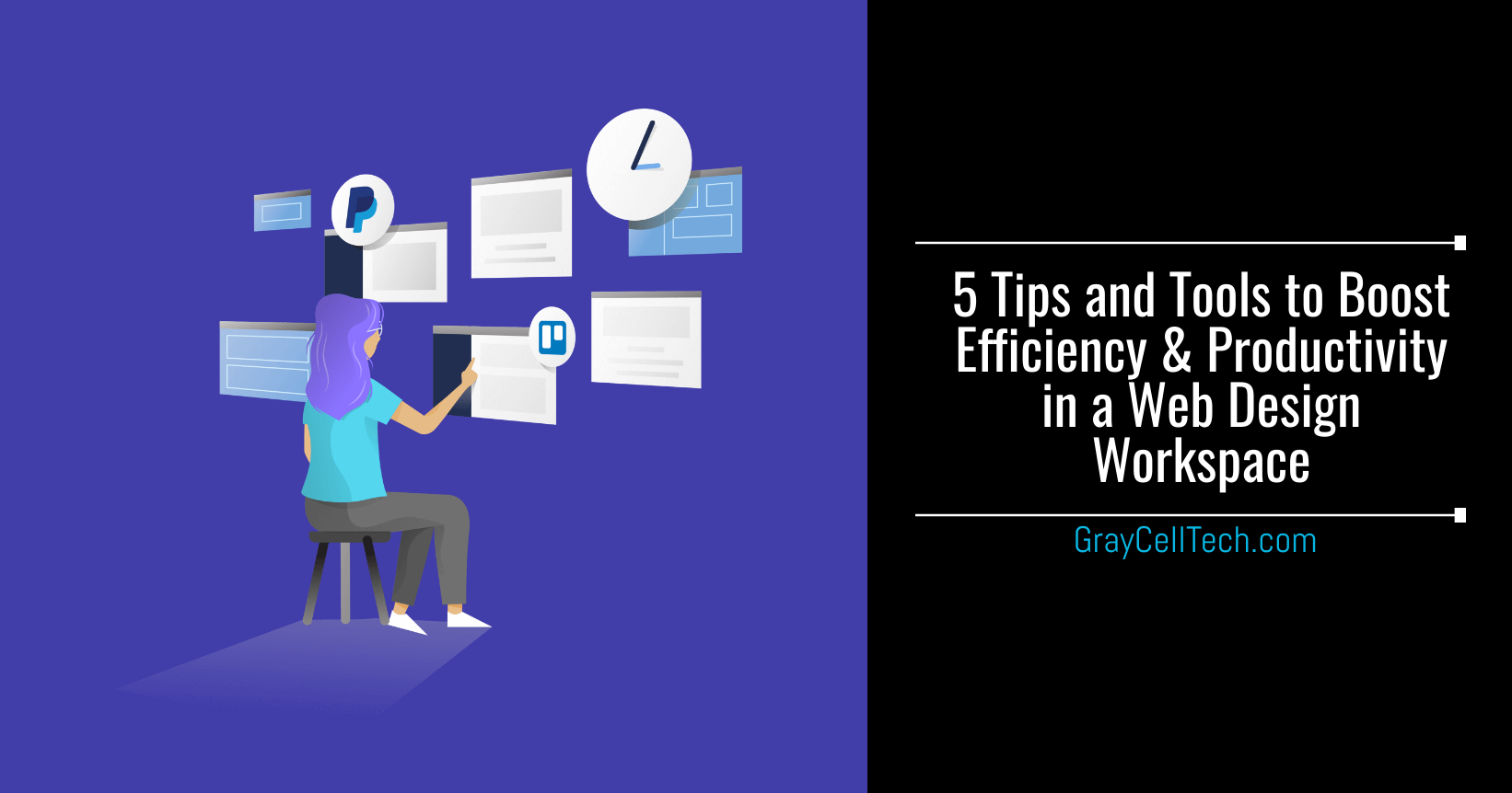 Tips and Tools to Boost Efficiency and Productivity in a Web Design and Development Workspace