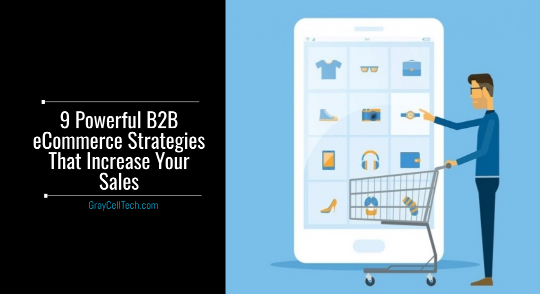 9 Powerful B2B eCommerce Strategies That Increase Your Sales
