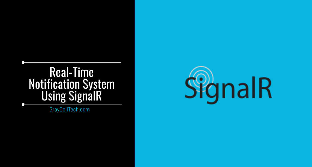 Real-Time Notification System Using SignalR