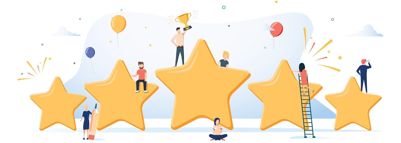 collect feedbacks and rating