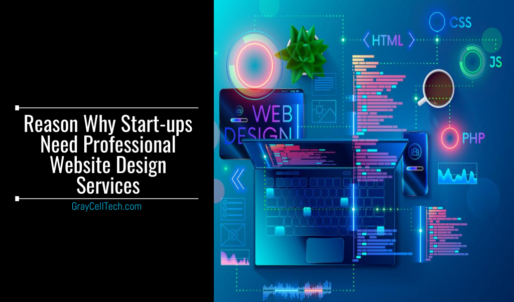 Reason Why Start-ups Need Professional Website Design Services
